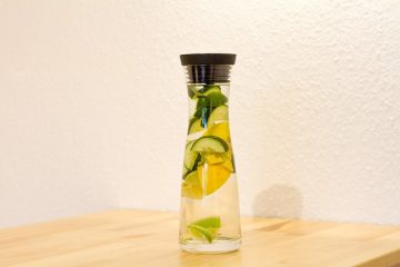 Cucumber Lemon Mint Water