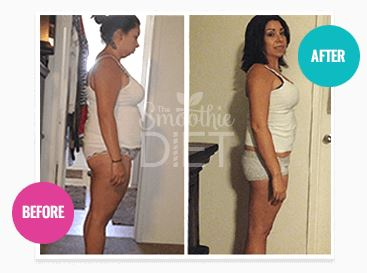 21 Day Smoothie Diet Before And After Result - 21 Day Smoothie Diet For Weight Loss